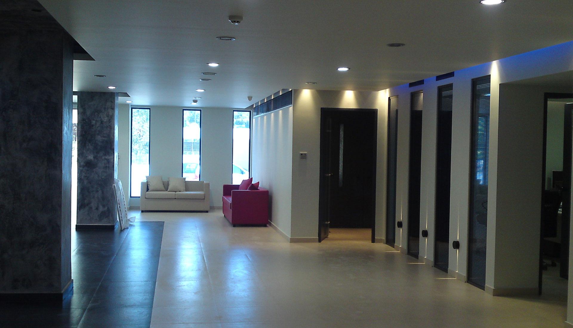 Νέα ηλεκτρική εγκατάσταση σε κτήριο 2.000 τ.μ.
