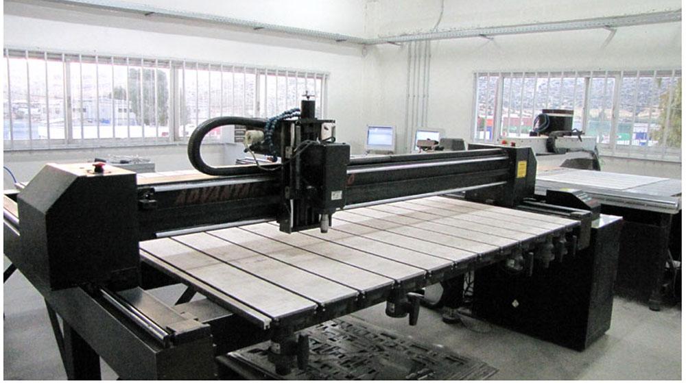 Υλοποίηση εργασιών στο εργοστάσιο Αβετελ